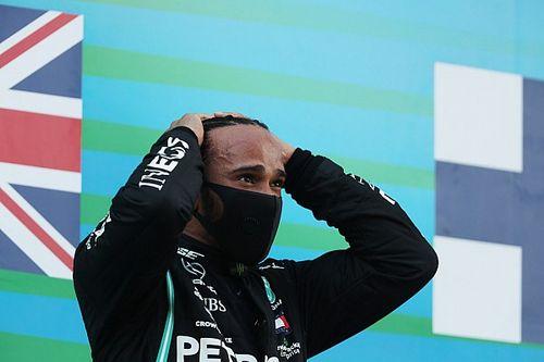 "Hamilton verbreekt podiumrecord Schumacher: ""Nederig en vereerd"""
