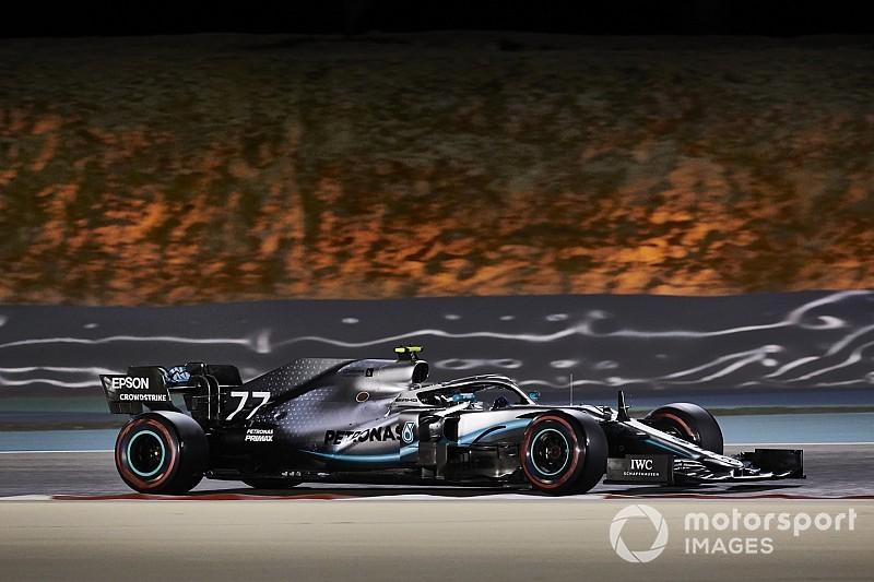 Bottas Bahreini GP-jét egy műanyag zacskó tette tönkre