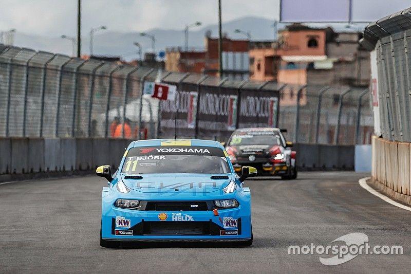 Marrakesh WTCR: Bjork tops practice for Lynk & Co