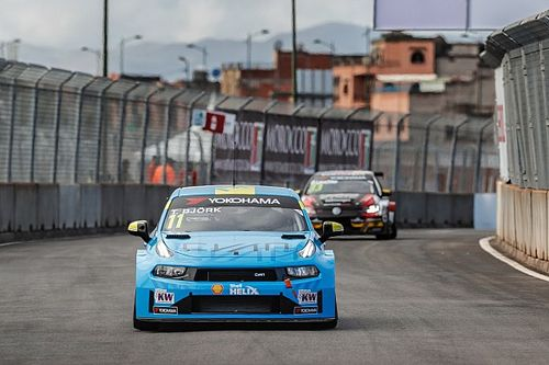 Marrakesh WTCR: Bjork tops practice for Lynk & Co