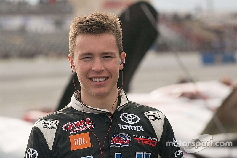 Raphael Lessard to make NASCAR Trucks debut at Martinsville
