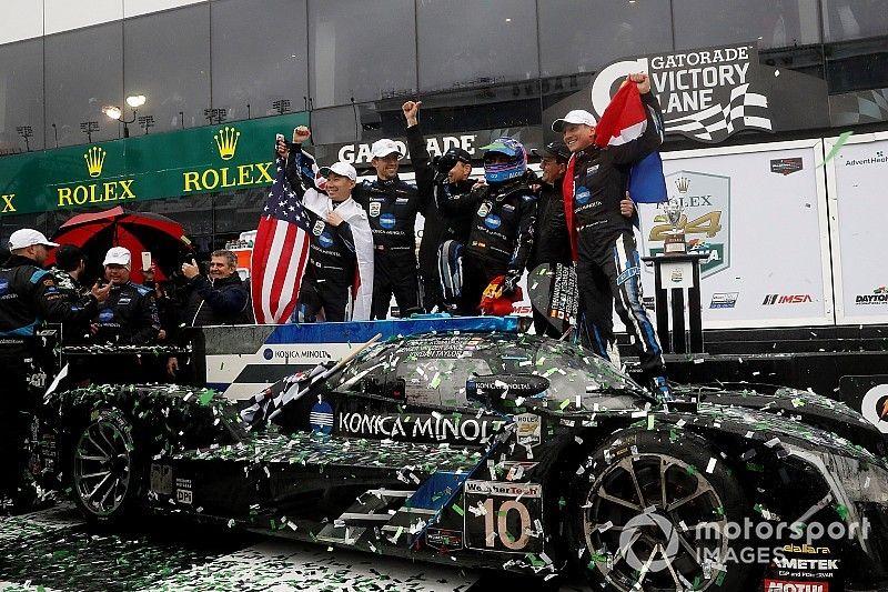 Rolex 24: WTR wins shortened race as Alonso beats Nasr