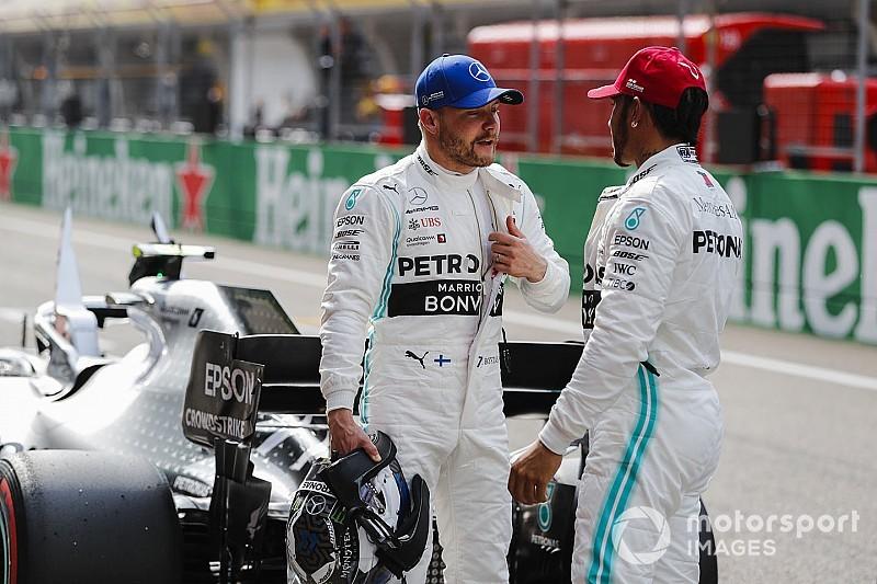 El duelo entre compañeros de F1 en clasificación en 2019