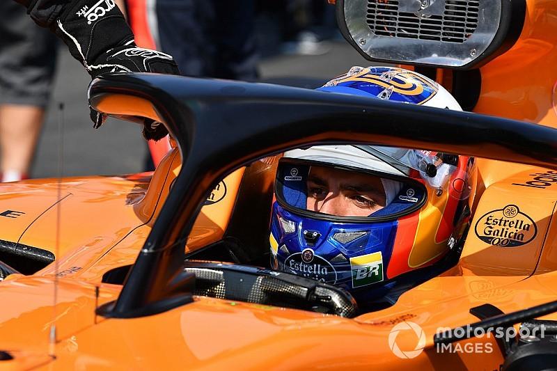 McLaren monta un nuevo MGU-K en el coche de Sainz