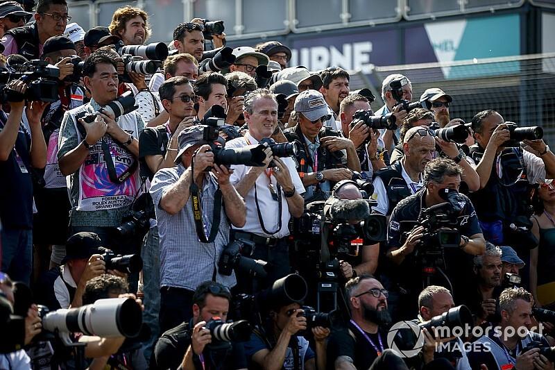 Egy fényképész a lehetséges következő beteg az F1 világában