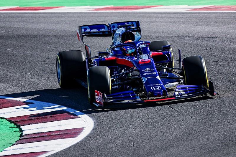 Toro Rosso, STR14'ün ilk pist üstü fotoğrafını yayınladı