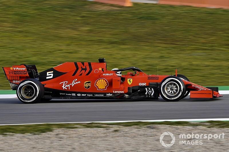 Jubelende Vettel kijkt terug op 'bijna perfecte testdag' met Ferrari