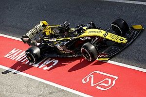 Renault updates revealed on first day of testing