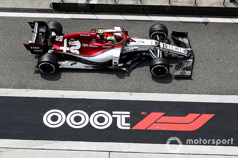 Engine installation error to blame for Giovinazzi missing FP1