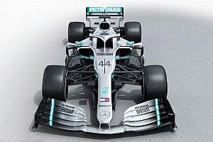 Gallery: The new Mercedes W10 Formula 1 car