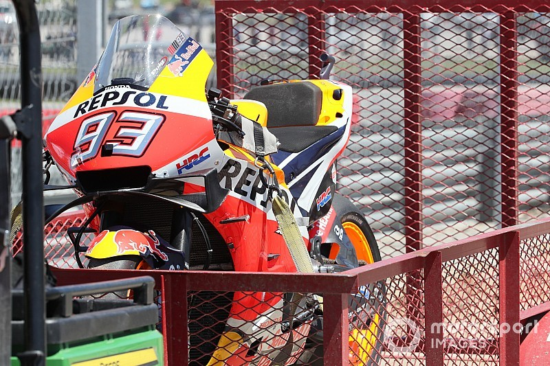 Marquez explains why he's crashing less in 2019