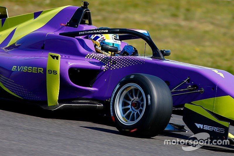 Zolder W Series: Visser outpaces Chadwick in practice