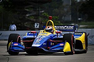Detroit IndyCar: Rossi grabs Race 1 pole, Newgarden tops Group 1