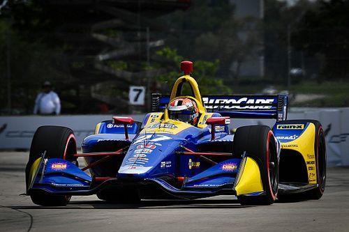 Qualifs 1 - Rossi en pole à Detroit après la douleur d'Indy