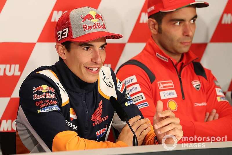 "Marquez: Bautista ""perfect example"" why 2019 title isn't won yet"