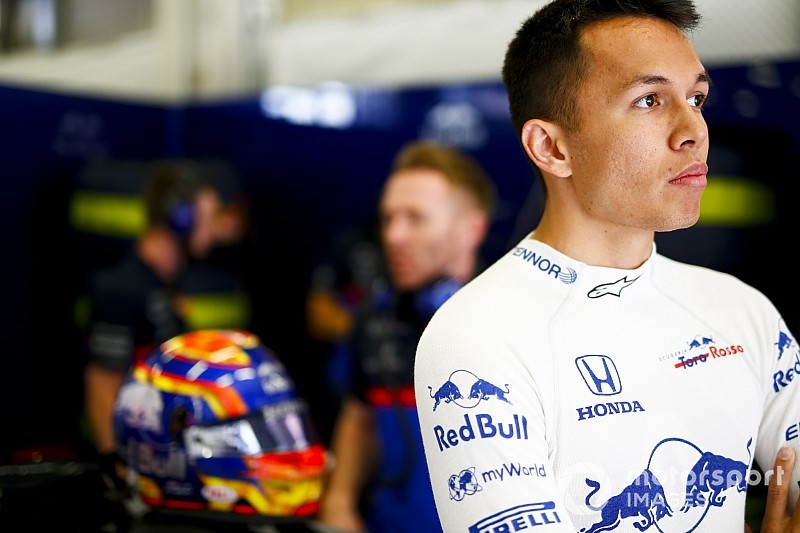"Albon: transferência para a Red Bull é ""surreal"""
