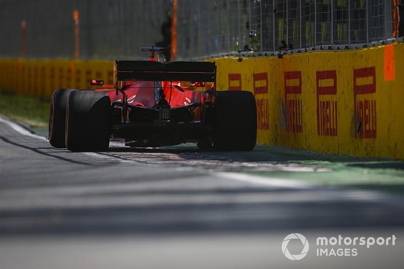 Fotogallery F1: la prima giornata di prove del GP del Canada