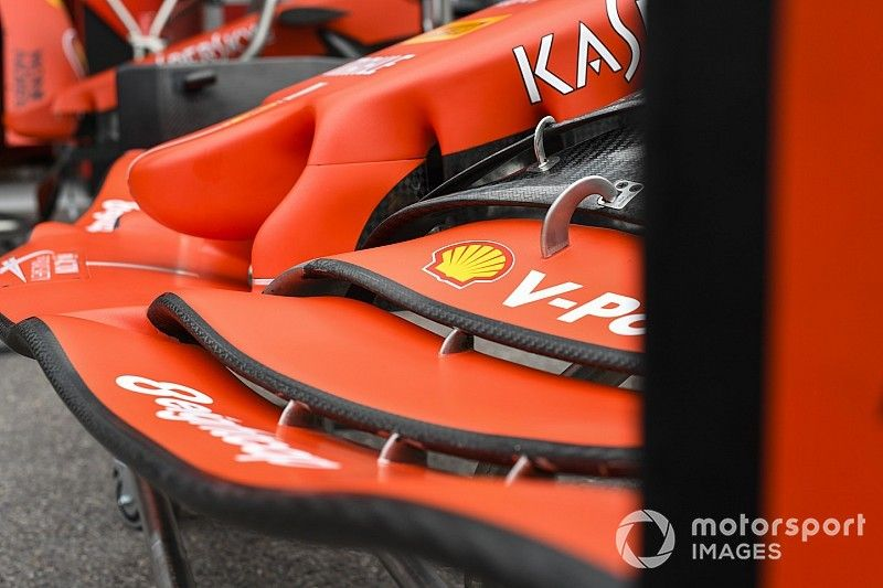 Ferrari nie zmieni koncepcji przedniego skrzydła