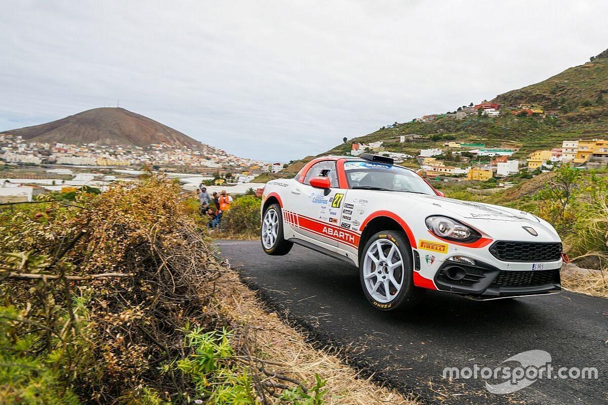 Poloński i Sitek na podium Abarth Rally Cup