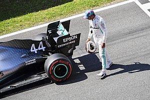 Mesmo com problema na bateria, Hamilton reconhece pole de Bottas