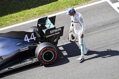 """Low battery a factor in Hamilton's """"not good enough"""" qualifying"""