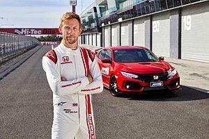 Button sets new Bathurst lap record