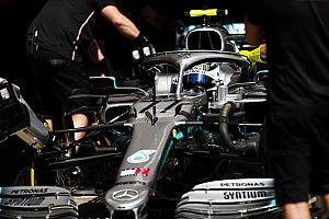 A Mercedes a régi motorjával is verte a Ferrarit Barcelonában