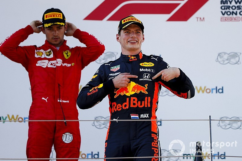 Austrian GP: Verstappen edges Leclerc in thrilling race