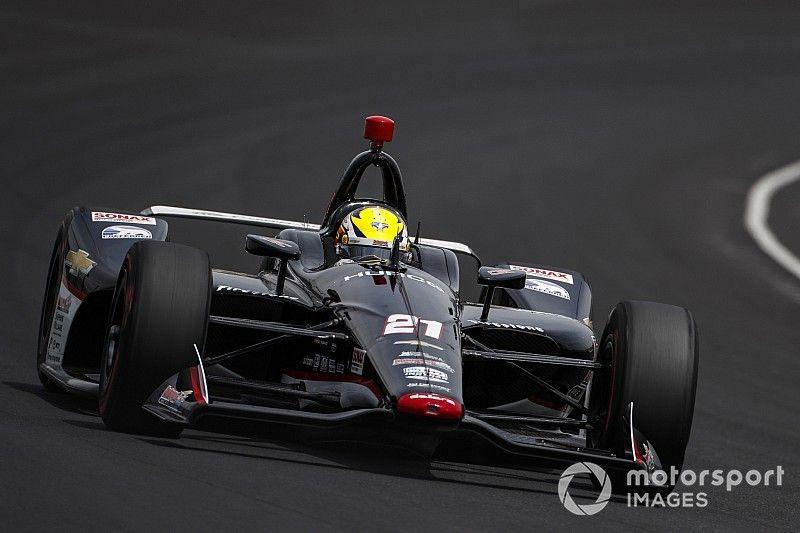 Pigot es líder en los primeros stints de la calificación para Indy 500