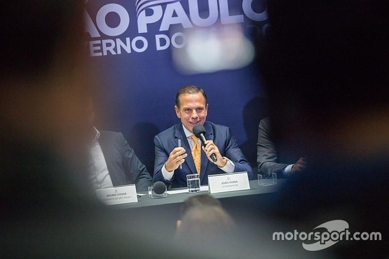 Doria: GP do Brasil de Fórmula 1 não sai de São Paulo