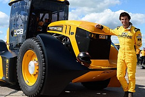 TT Racer Guy Martin Sets New Speed Record... In A Tractor