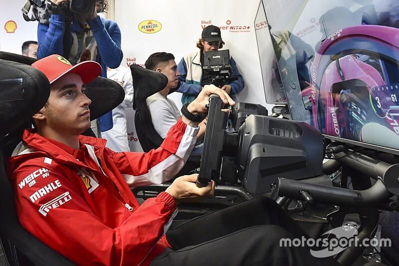 Леклер и еще четверо гонщиков Ф1 примут участие во втором виртуальном Гран При