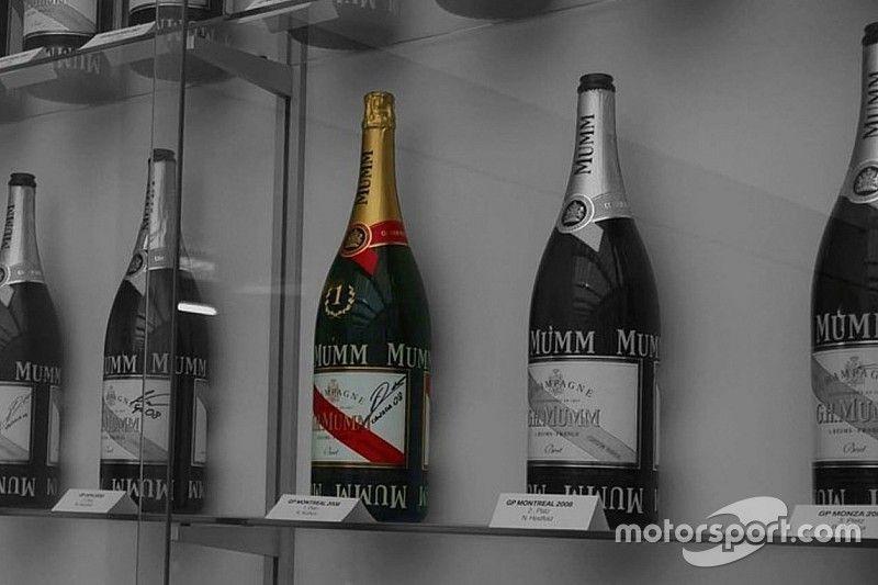 Alfa aclara el mito del champán sin descorchar de Kubica