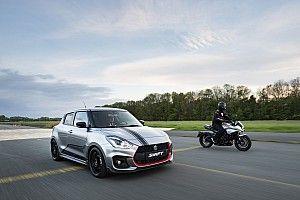 Video: Motorsport.com racet 'dikste Suzuki' tegen nieuwe Katana-motorfiets