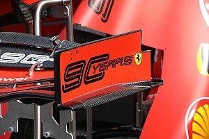 """Bemutatkozott a Ferrari új első szárnya: kisebb """"csodafegyver""""?"""