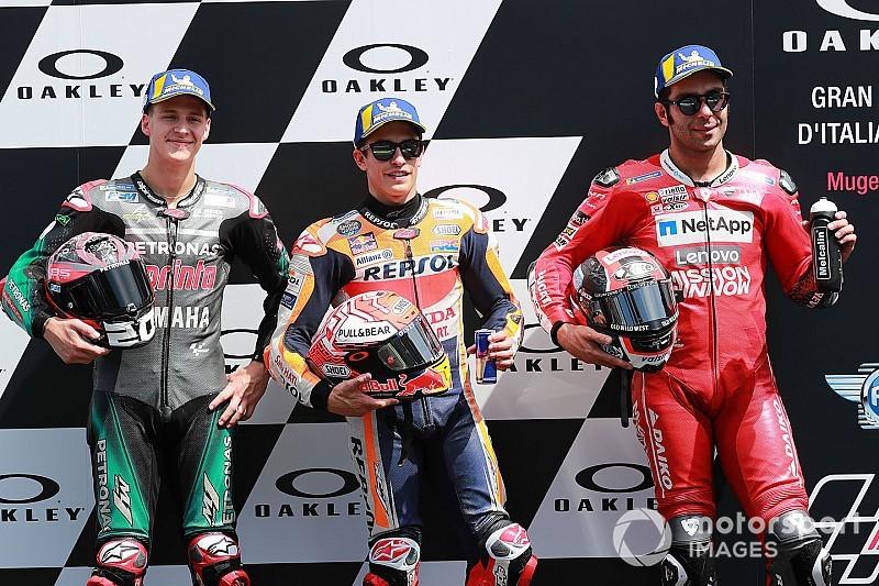 Mugello MotoGP: Marquez pips Quartararo to pole, Rossi 18th
