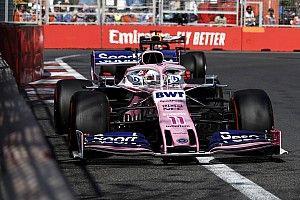 Perez: Tüm yarış boyunca limitte sürdüm