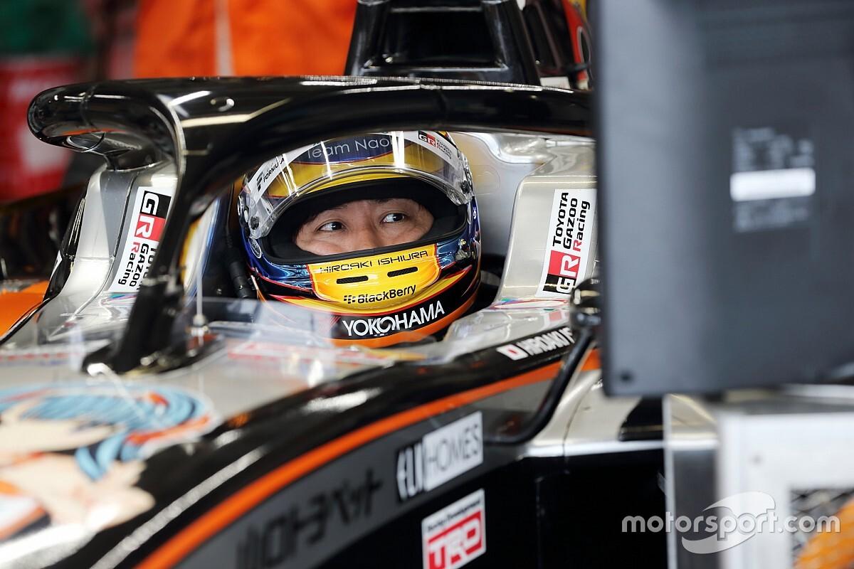 Two-time champion Ishiura set for last Super Formula race