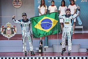 Cacá Bueno vence com dobradinha brasileira na Jaguar I-Pace eTrophy, e Jimenez assume ponta do campeonato