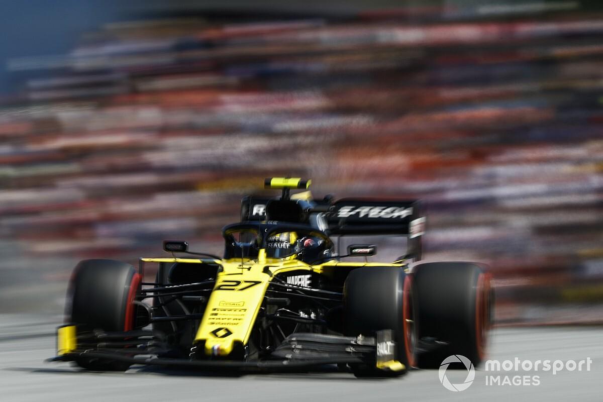 Upgrade Renault werkte niet zoals verwacht volgens coureurs