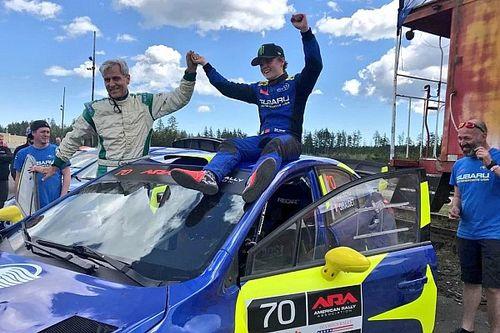 Zwycięstwo Solberga, Fetela na podium