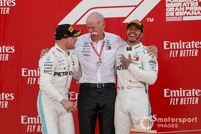 Mercedes, a un doblete de la mayor racha histórica en F1