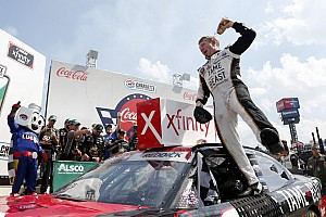 Tyler Reddick wins chaotic Xfinity Series race at Charlotte