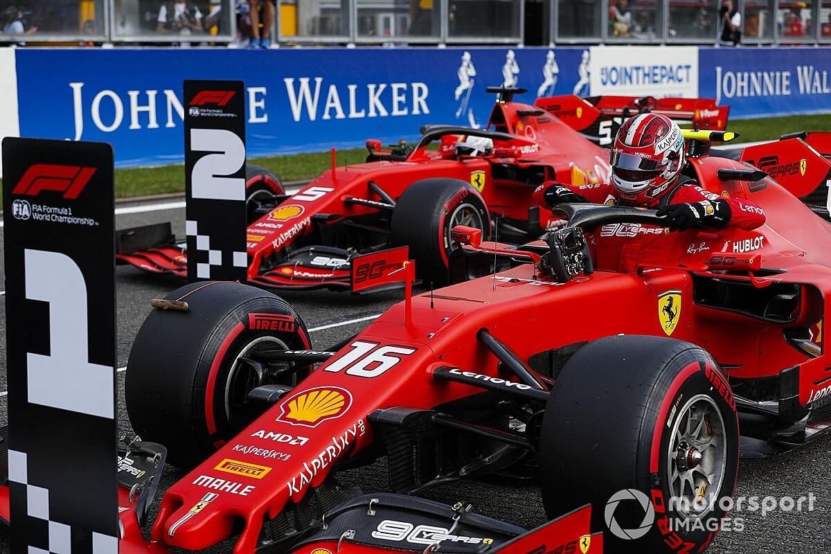 Ferrari: l'ordine di squadra non degrada Vettel a secondo