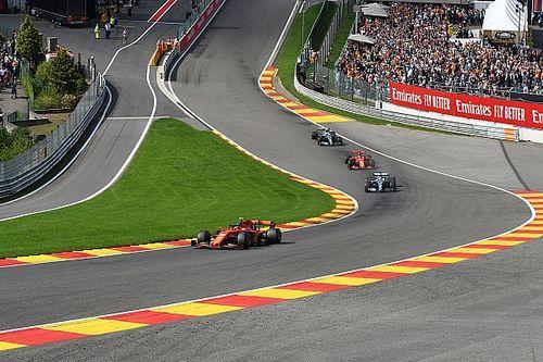 F1, track limits di Spa: ecco dove i piloti non potranno tagliare