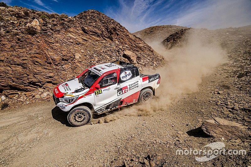 Alonso precisa abandonar o terceiro estágio do Rally do Marrocos