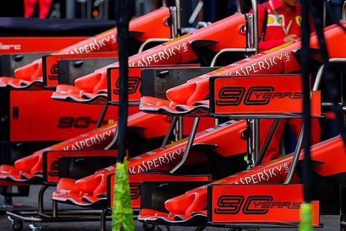 Ferrari voert back-to-back tests uit met nieuwe voorvleugel