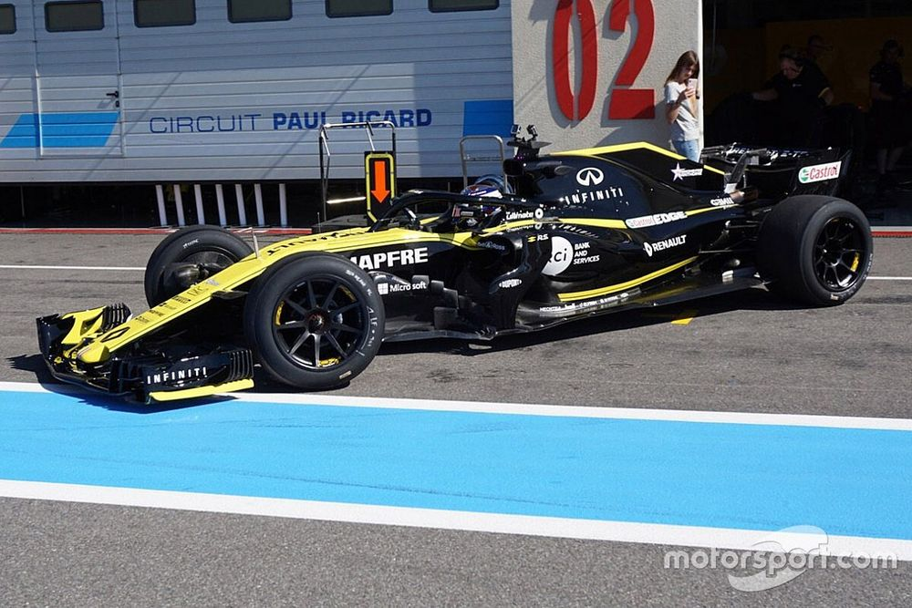 Pirelli concerned about 18-inch F1 tyre test programme