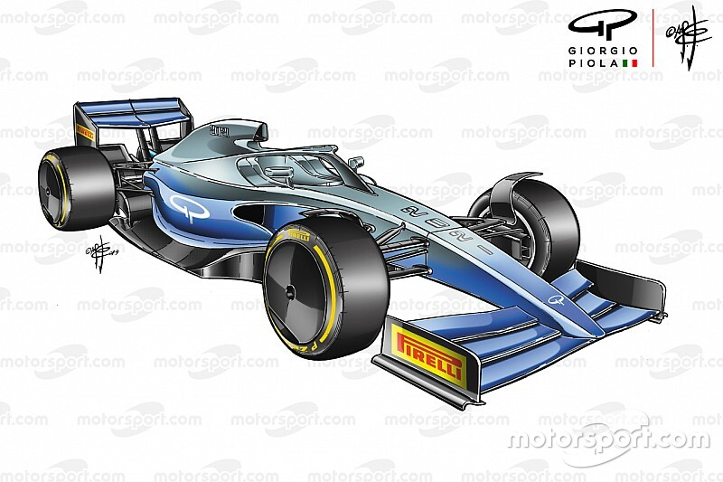 F1 onthult beelden van model 2021 in windtunnel