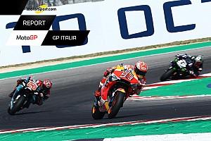 """Motorsport Report MotoGP: Marquez batte il """"galletto"""" nell'aia di Rossi"""